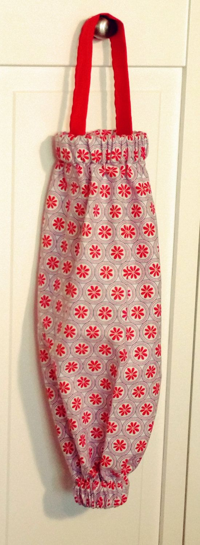 Plastic bag keeper - Cute Plastic Bag Holder Plastic Bag Holder Cloth Grocery Bag Holder Cute Grocery