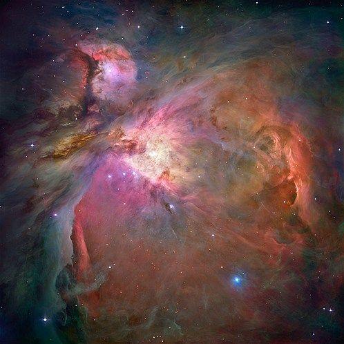 Foto's gemaakt door de Hubble-telescoop (© NASA/Reuters) De Orionnevel
