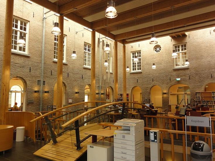Centrale hal, Brabants Historisch Informatie Centrum, Citadel, 's-Hertogenbosch