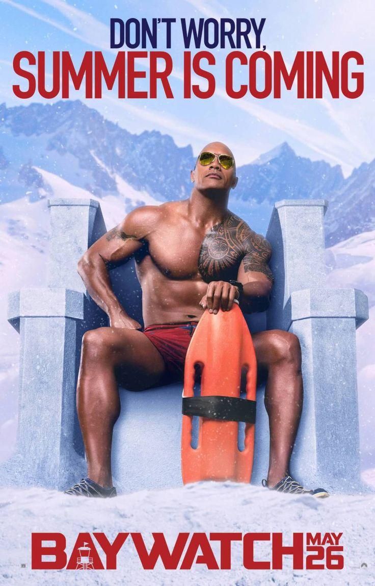Baywatch Poster 10 - Dwayne Johson