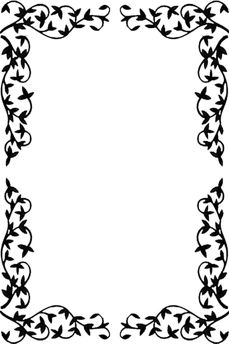 Bordes y marcos elegantes imagui for Bordes creativos