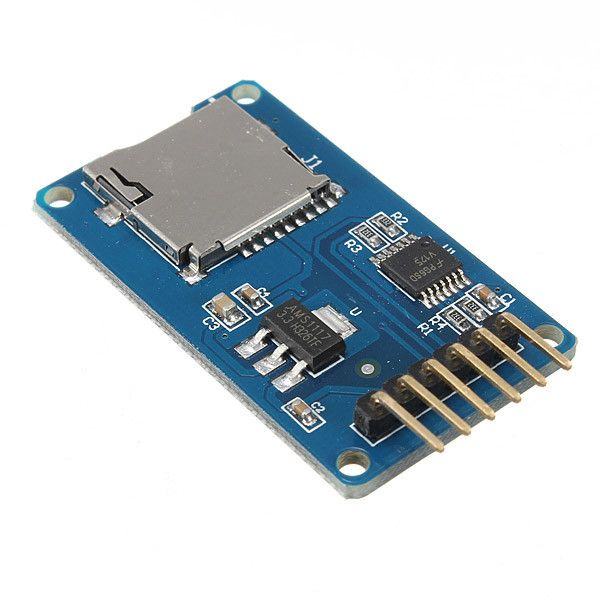 Clock Kit Temperature Light Control Version DIY 4 Digit LED Electronic. Micro SD TF Card Memory Shield Module SPI Micro SD Adapter For Arduino is available now from our US  warehouse   Free shipping to US  in 3-6 business days ship to Canada, Brazil in 7-10 days   Micro SD TF Card Memory Shield Module SPI Micro SD Adapter For Arduino  Features:  The module (MicroSD Card Adapter) is a Micro SD card reader module, and the SPI interface via the file system driver, microcontroller…