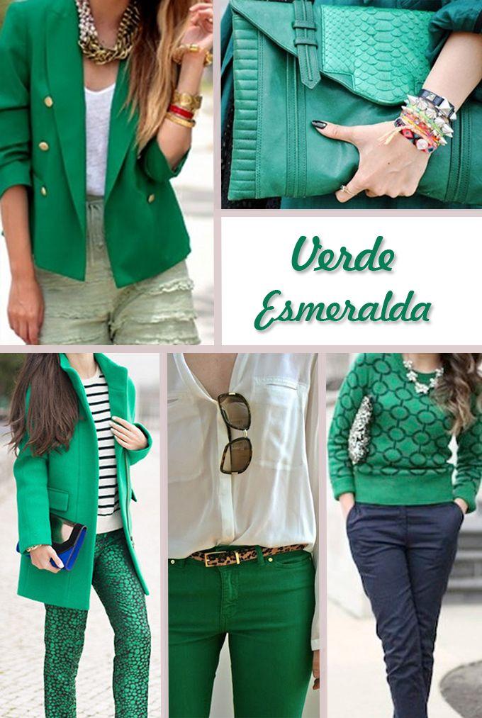 Inverno 2013: Verde Esmeralda