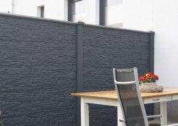 die besten 25 betonzaun ideen auf pinterest moderne umz unung und tore betonzaunfelder und. Black Bedroom Furniture Sets. Home Design Ideas