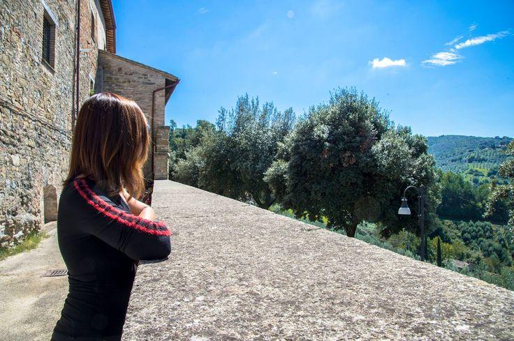 Affaccio dalle mura etrusche