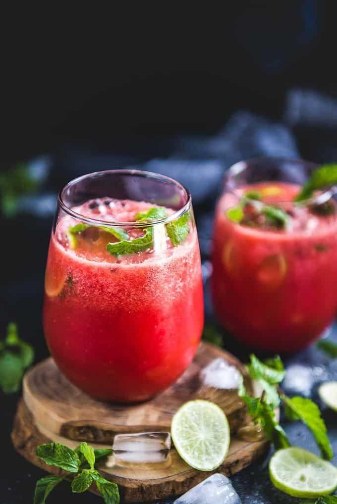 Watermelon Ginger Juice