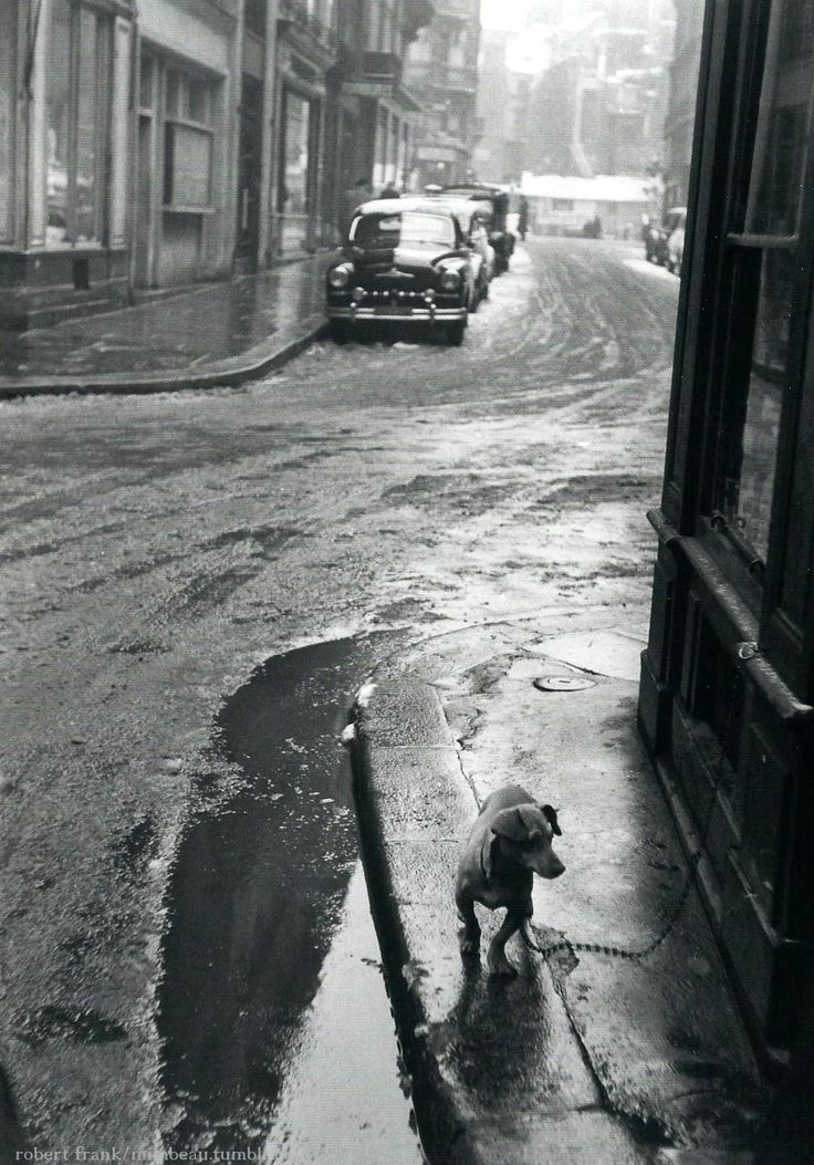 Paris 1950. Photo de Robert Frank.