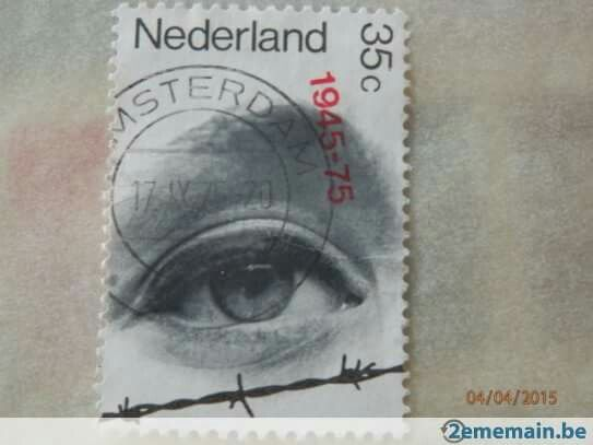 1975 http://www.2ememain.be/collections/timbres/pays-bas/timbre-poste-pays-bas-lib%C3%A9ration-233178011.html