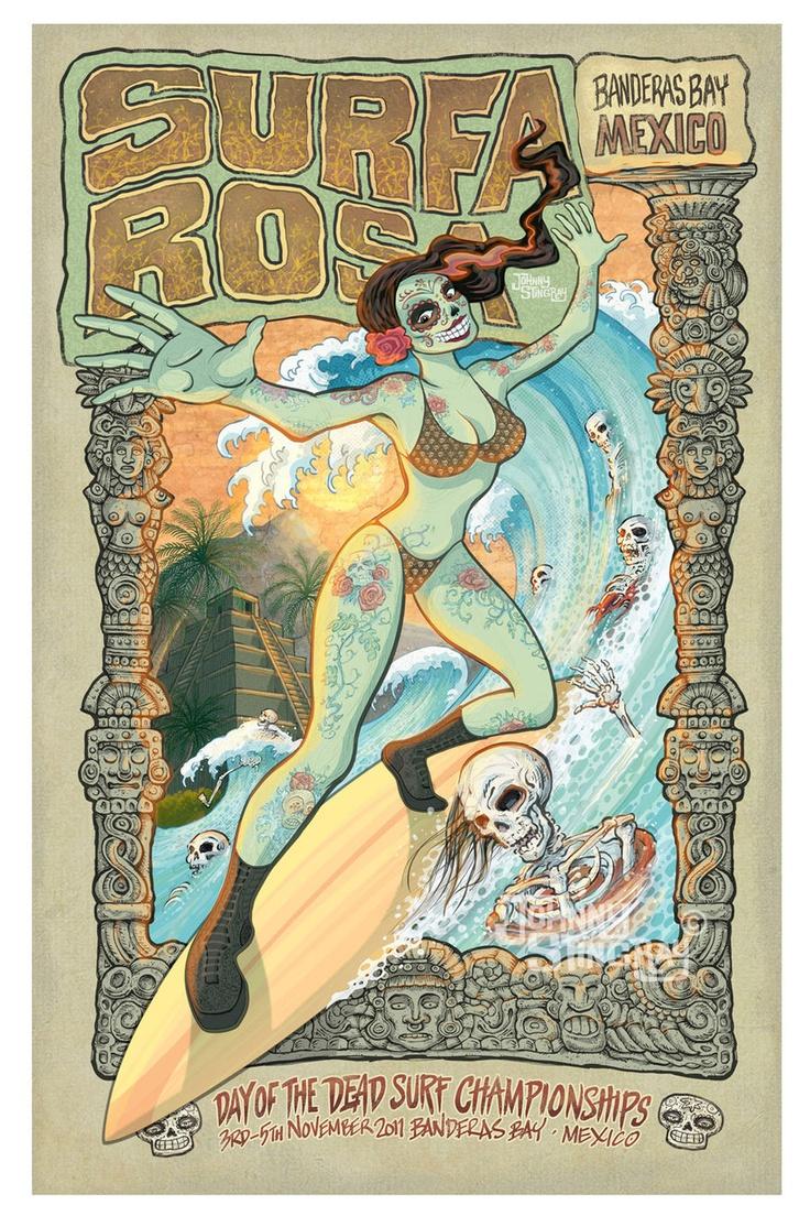 Surfa Rosa by Johnny Stingray