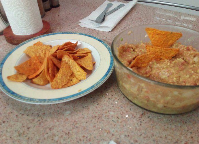 Guacamole 1.1 para #Mycook http://www.mycook.es/cocina/receta/guacamole-11