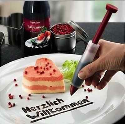 Silicone Plate Paint Pen Cake Cookie Pastry Cream Chocolate Decorating Syringe http://kitchenammo.com/store/kitchen/silicone-plate-paint-pen-cake-cookie-pastry-cream-chocolate-decorating-syringe/