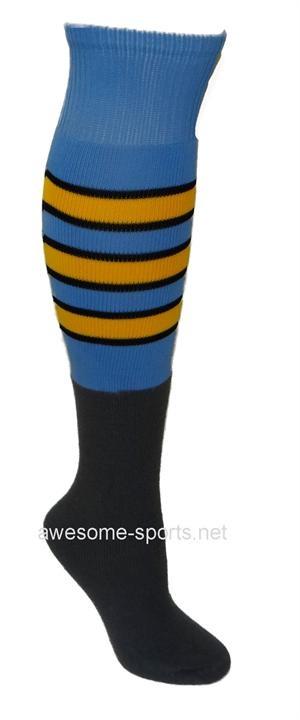 Custom Football Socks with Big Stripe Free