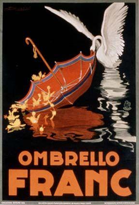 ✔️ Ombrello Franc, 1928; Giclee Print