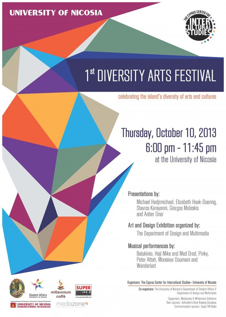 1st Diversity Arts Festival | University of Nicosia - Official Website