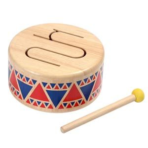 Bębenek drewniany, Plan Toys | http://dekoeko.com/product/bebenek-drewniany-plan-toys/ | Kup na www.dekoeko.com