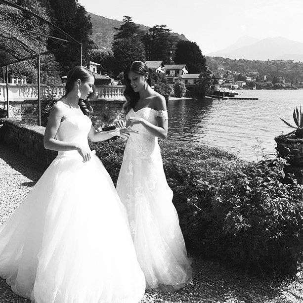 Regram @tosettisposa shooting preview  ‪#‎comolake‬ ‪#‎tosetti‬ ‪#‎sposa‬ ‪#‎bridal‬ ‪#‎lakecomo‬ ‪#‎lenno‬ ‪#‎lagodicomo‬ ‪#‎shooting‬ ‪#‎bride‬#alessandrotosetti