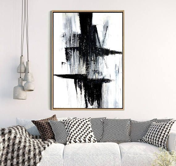 Black Art Print, Abstract Wall Art,  Abstract Print, Black Abstract Art, Monochrome Art Print, Home Decor, Wall Decor, Instant Download