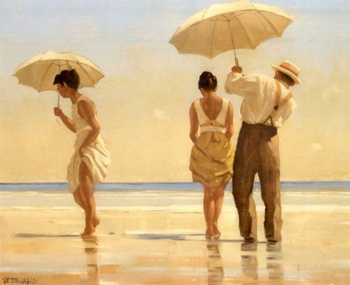 Mad Dogs, Jack Vettriano. Love his work.