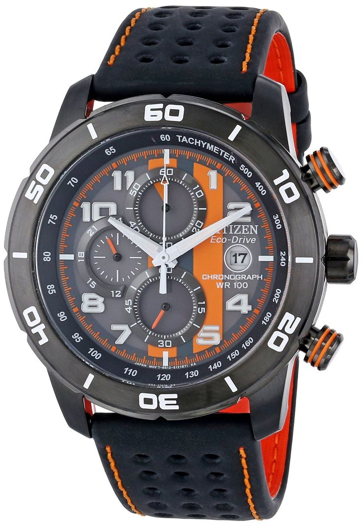 "Citizen Men's Watches : Citizen Men's CA0467-11H Eco-Drive ""Primo"" Chronograph Sport Watch"