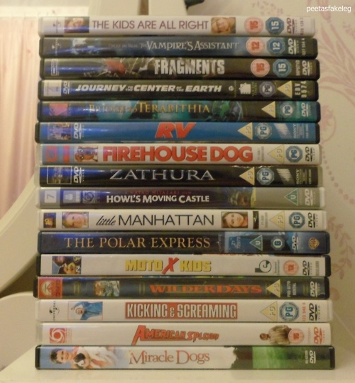 ALL the Josh movies!  Someday I am going to sit at home for however long it takes to watch all of these movies! (Was he the voice of the main kid in The Polar Express?? WOW!)
