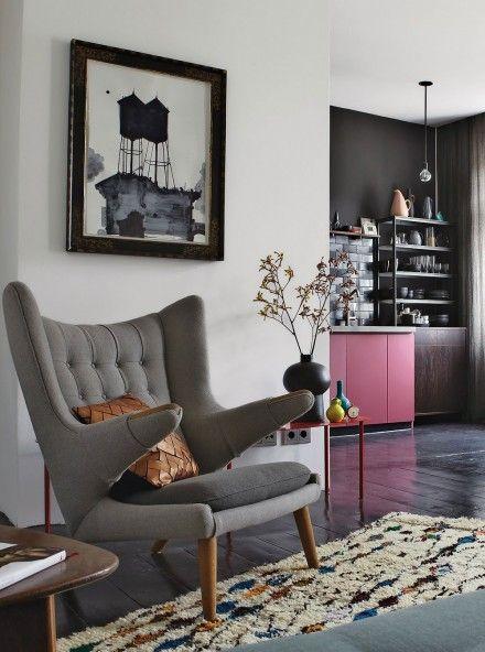 Berlin'de bir apartman dairesi