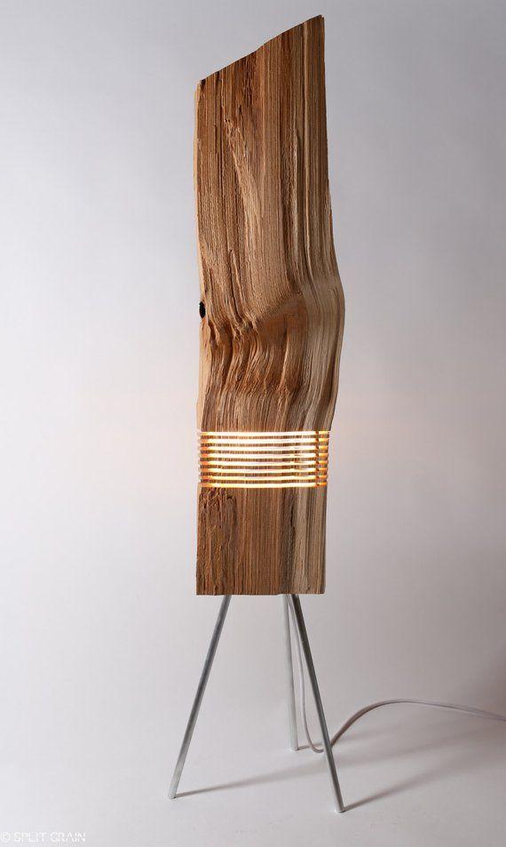 Modern Lighting Wood Light Sculpture | Holzmöbel | moderne ...