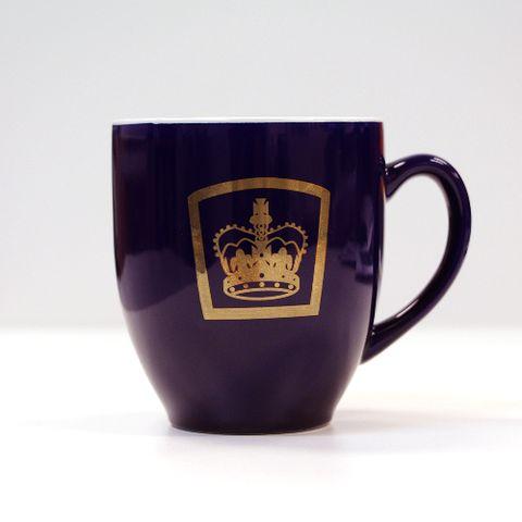 Queens Guide Mug Cobalt Blue