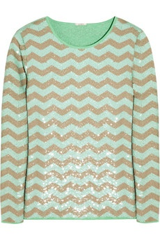 sequined cotton sweater / j.crew... love!