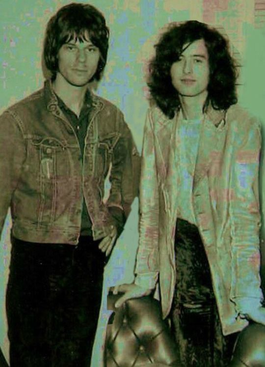 "Jeff Beck and Jimmy Page...The original ""Dueling Banjos"" !!"