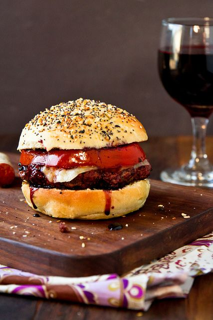 Cabernet Burgers (or Shiraz. or merlot ...)with Everything Buns I ...