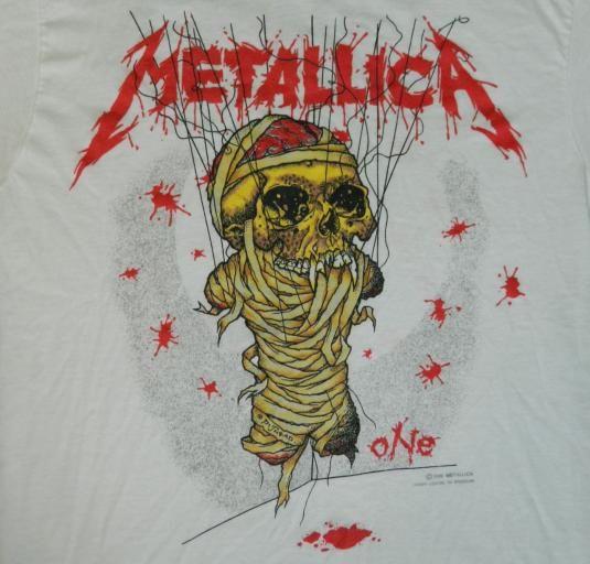 Vintage #METALLICA ONE #TShirt #metal #heavymetal