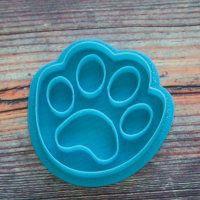 """Cookie cutters stamp """"Dog Paw"""" 6 cm"""
