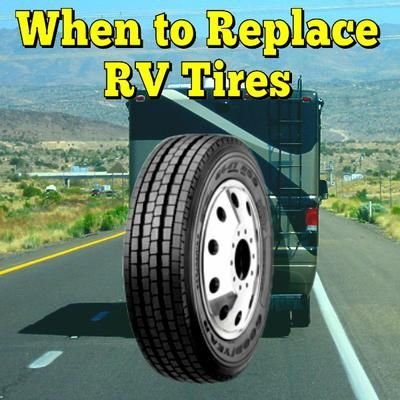 When to Replace RV Tires: How do you know when it's time to change tires with checks starting to show? ANSWER: Hi Dennis based on what you are describing it may very well be time