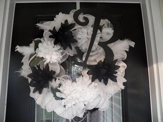 Personalized Wedding Decoration, Bridal Shower Decoration, Wedding Wreath, Wedding Gift on Etsy, $94.99