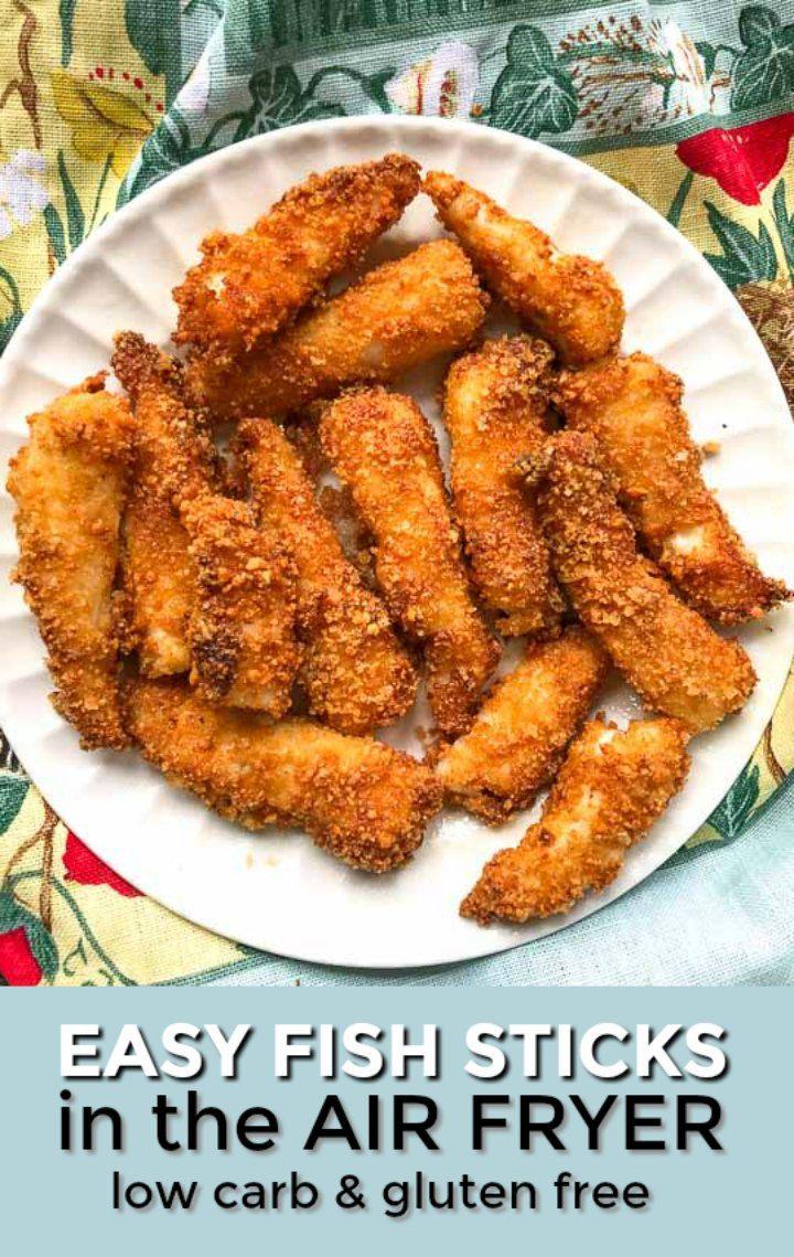 Keto Air Fryer Fish Sticks Recipe in 2020 Seafood