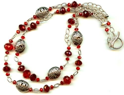 new necklace design idea from bead inspirations the dorrit necklace