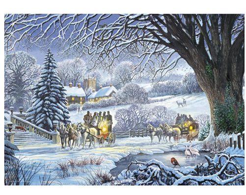Winter Coaches Jigsaw