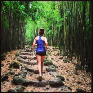 Maui. Pipwai Trail in Maui.