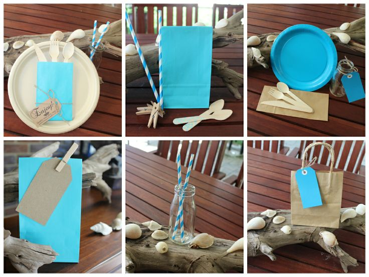 Vibrant Blue and Eco Products