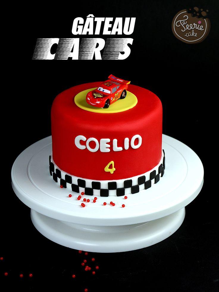 Un tuto facile pour réaliser un gâteau Cars