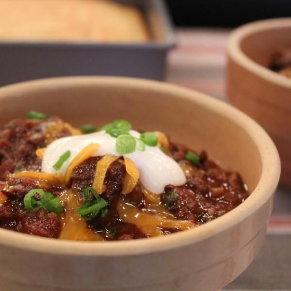 Beer. Chili. Chocolate. The End. (OK, more specifically, one great recipe involving tons of your favorite things. )