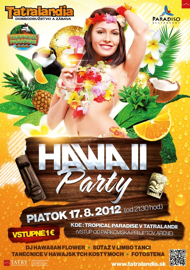 HAWAII PARTY TROPICAL PARADISE TATRALANDIA