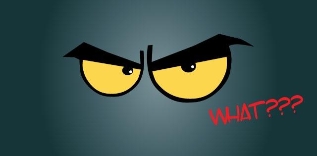ojos malos...