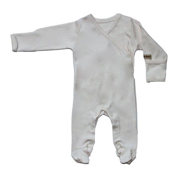 Organic Baby Clothes Baby Pyjamas Baby Pajamas by AmandaAnnBrown