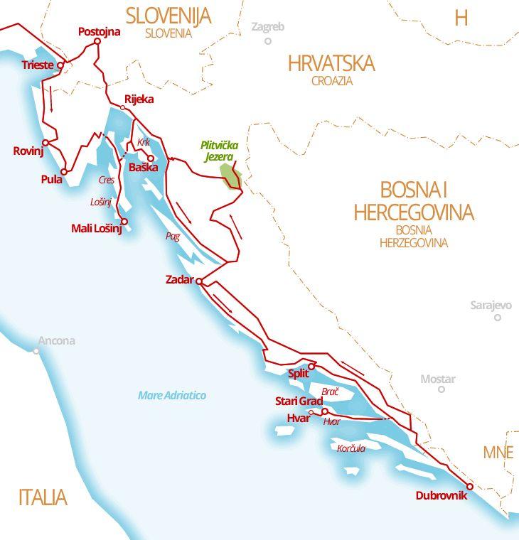 3330 km - Croazia in camper tra isole e terraferma