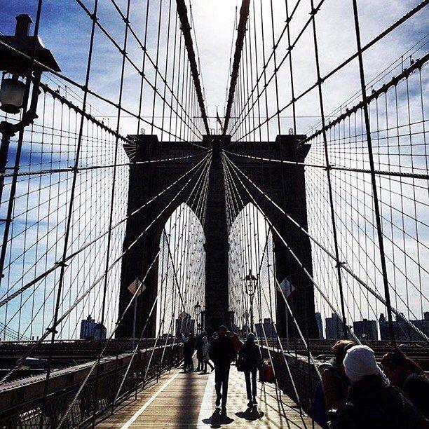 Brooklyn Bridge, New York City #escapesnaps Picture: @flash_vino / Instagram