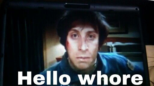 Howie is saying hello. #bigbangtheory #bigbang #comedygold #comedy #entertainment #lol