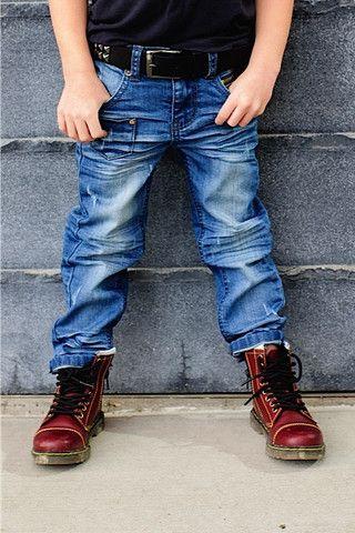 Brayden Hipster - Blue Wash, Boys Jeans | Rock-a-boy Apparel