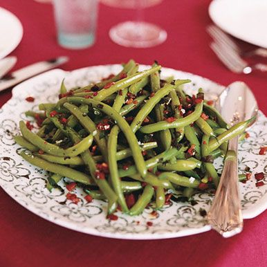 Find the recipe for Green Beans with Sage and Pancetta and other green bean recipes at Epicurious.com