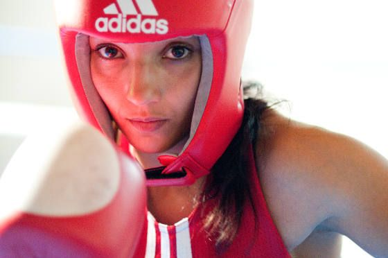 Sarah Ourahmoune intègre la boxe là où on ne l'attend pas - Magazine Femme in the City